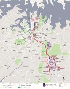 CSELR route (from TfNSW CSELR Modifications Report, 2014)