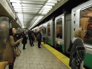 Boston Green Line underground station