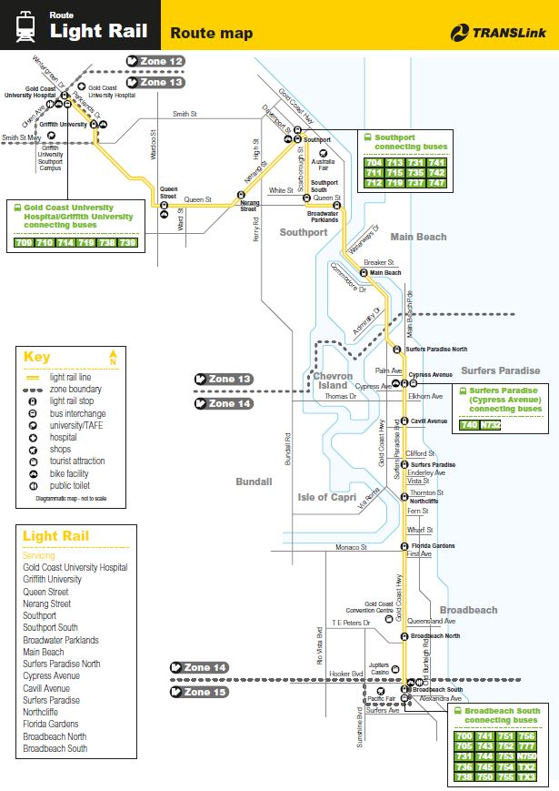Gold Coast Light Rail Line