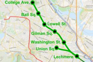 Green Line Extension Map