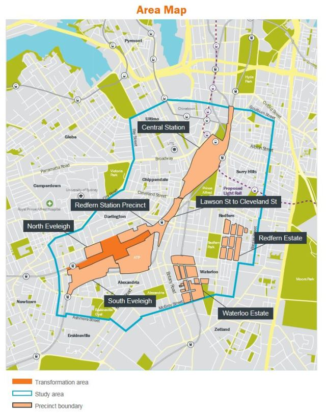 Central to Everleigh renewal map