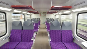 Suggested NSW Intercity train interior (source: Transport for NSW)