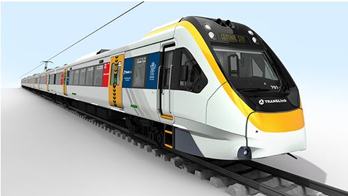 New Generation Rolling stock for south east Queensland (source: Queensland Government)