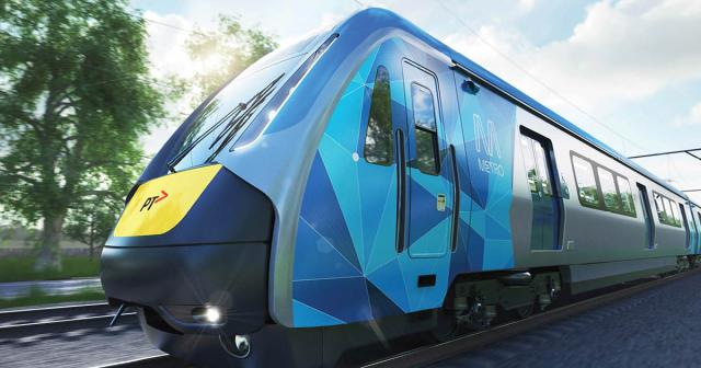 Artist impression of Melbourne's new High Capacity Metro Train. Source: Victorian Premier media release
