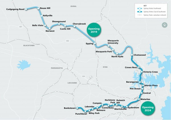 A Tale Of Two Metros London Crossrail And Sydney Metro Compared