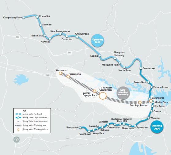 Subway Map Sydney.Sydney Metro West S Slow Unveiling Strategicmatters