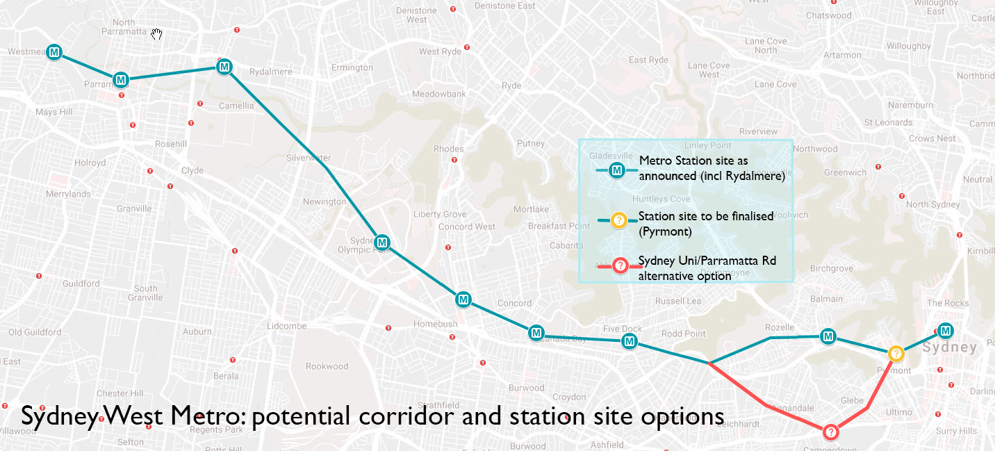 Ultramoderne Update: Sydney West Metro station plans firm in NSW election GC-14